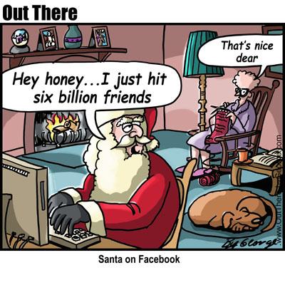 santa-on-facebook